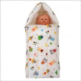 My Stork Story Carry Nest/Sleep Bag - Cream Print