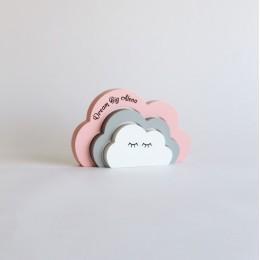 Sleepy Clouds-Pink