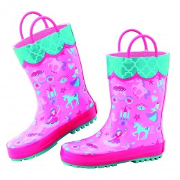All Over Print Rainboots Princess