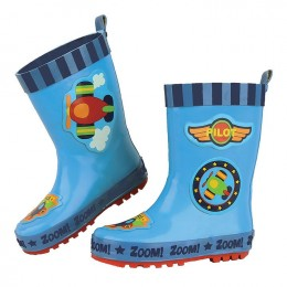 All Over Print Rainboots Airplane