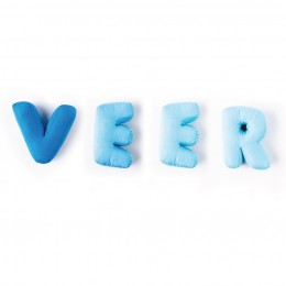 Letter Love Cushions Blue (Price Per Letter)