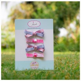 Little Miss Pretty - Set of 4 Hair Clips