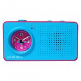 My Fab Alarm Clock (Blue Pink)