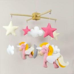Unicorn Crib Mobile
