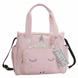 Organic Unicorn Diaper Bag - Personalized