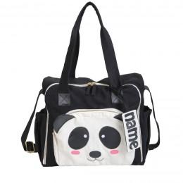 Organic Panda Diaper Bag - Personalized