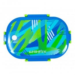 Scoo Yum 3D Lunch Box (Blue)