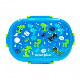 Scoo Yum Dino Lunch Box (Blue)