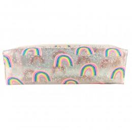 Rainbow N Glitter Pencil Case