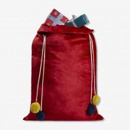 Red Velvet Luxe Santa Sack