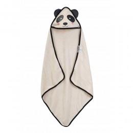 Organic Hooded Towel - Panda