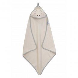 Organic Hooded Towel - Unicorn