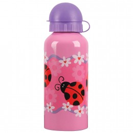 Stainless Steel Bottle Ladybug