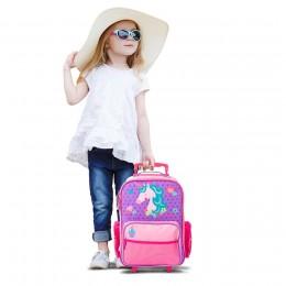 Rolling Luggage - Unicorn