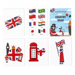 Country Snap - Activity Cards