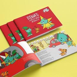 Dinas Christmas Miracle - Story Activity Book