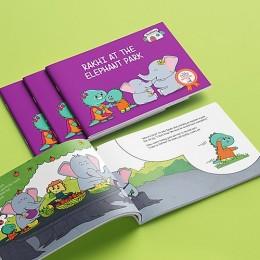 Rakhi at the Elephant Park - Story Activity Book