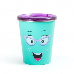Spill Free Stainless Steel Cup - Chatter Box