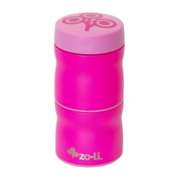 Zoli Pow This & That Stainless Steel Insulated Food Jar- Pink