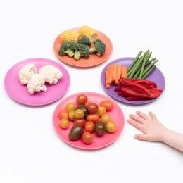 Bamboo Kids Dinner Plates - Set of 4 - Sunset