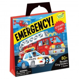 Reusable Sticker Tote: Emergency