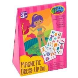 Magnetic Dress-Up Doll - Girl