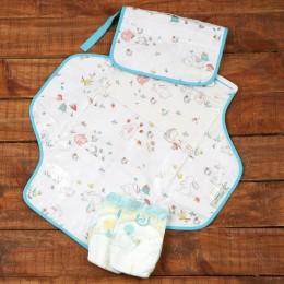 Snuggle Bunny Organic Diaper Clutch