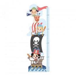 Little Pirates - Height Chart Sticker