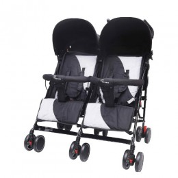 R for Rabbit Ginny and Johnny - The Twin Stroller