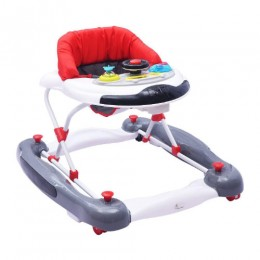 R for Rabbit Ringa Ringa Anti Fall Baby Walker Turn Rocker with Adjustable Height