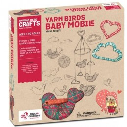 Yarn Birds Baby Mobile - Activity Box