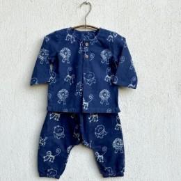 Zoo Bag - Kurta and Pyjama Pants Set