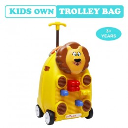 R for Rabbit Orapple Kids Trolley Bags for Kids with Blocks