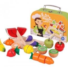 Fruits and Veggies Cutting Set