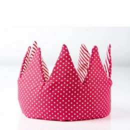Crown - Pink Stripes