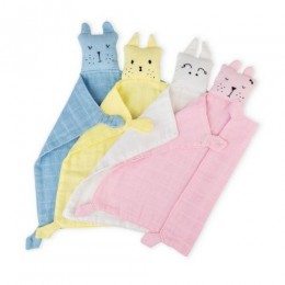 Muslin Snuggle Napkin - Pack of 4
