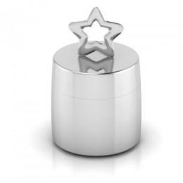 Silver Plated Star Keepsake Box
