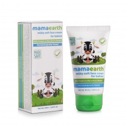 Mamaearth Milky Soft Face Cream for Babies, 50ml