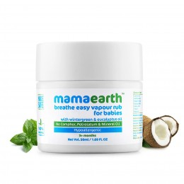 Mamaearth Breathe Easy Vapour Rub, 50ml