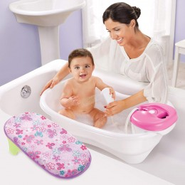 Summer Infant Newborn to Toddler Bath Center and Shower, PINK