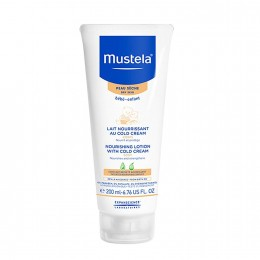 Mustela Nourishing Body Lotion with Cold Cream for Dry Skin, 6.7 oz