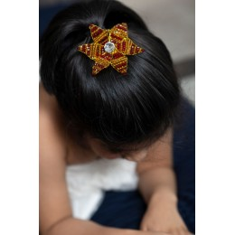 The Starfire Floral Hairclip (Handmade)