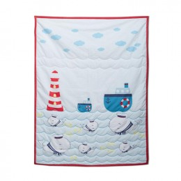 Captain Adorable Quilted Blanket
