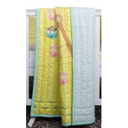 Cirque Du Baby Quilted Blanket