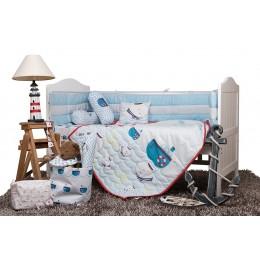 Captain Adorable Cot Bedding Set