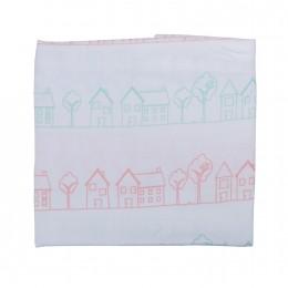Home Sweet Home Cot Sheet