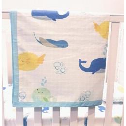 Underwater Animals Dohar Blanket