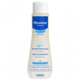 Mustela Gentle Baby Shampoo, White, 200ml