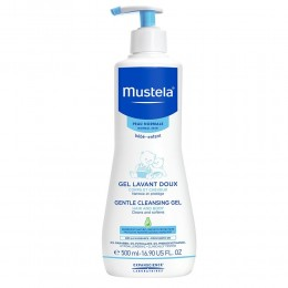 Mustela Gentle Cleansing Body Gel, White, 500ml