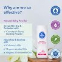 The Moms Co. Natural talc-Free Baby Powder
